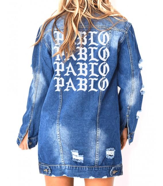 2c82b5ca61f5 Destroy Jeans En Veste Femme Longue Pablo Sw4qEt4