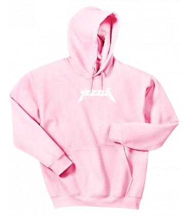 Yeezus Hoodie Sweatshirt Pastel Pink Yeezus Saison 3