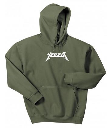 Yeezus Hoodie Sweatshirt Pastel Khaki Yeezus Saison 3