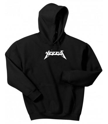 Yeezus Hoodie Sweatshirt Pastel Black Yeezus Saison 3