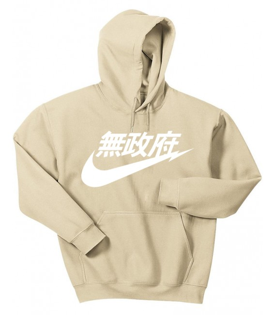 Anarchy Air Japan Sweat à Capuche Pastel Beige
