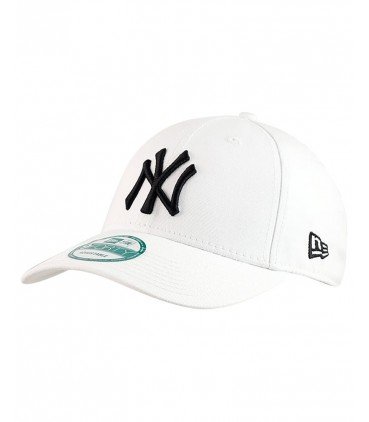 New Era League Essential NY 9forty Blanche Ajustable