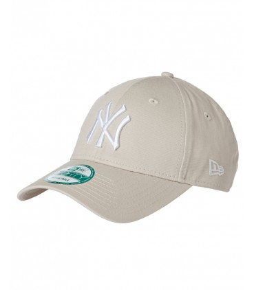New Era League Essential NY 9forty Beige Ajustable