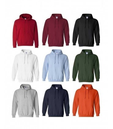 9 Coloris Sweat-Shirt Capuche