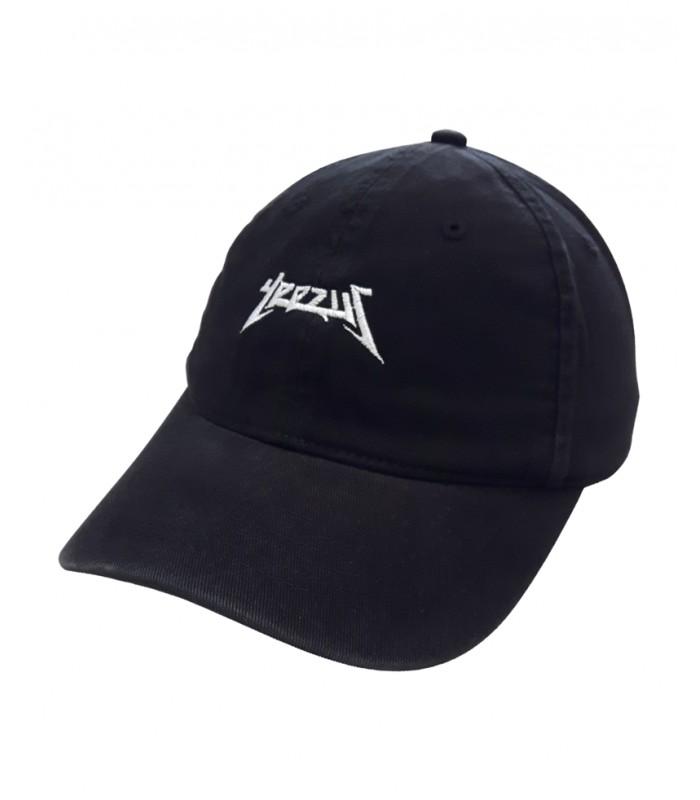 Yeezus Dad Hat Black Kanye West Merch e2fd0b91d73