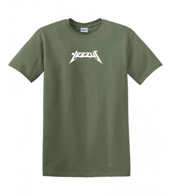 Yeezus T-Shirt Kaki Yeezus Merch
