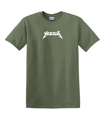 Yeezus T-Shirt Khaki Yeezus Merch