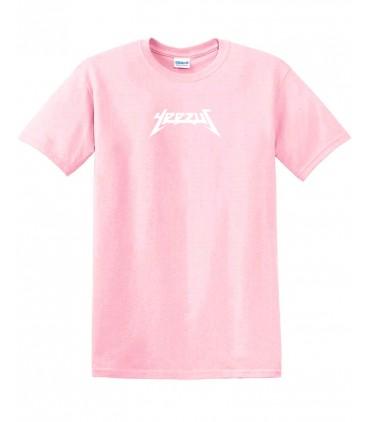 Yeezus Tee Pink Yeezus Merch
