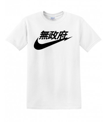 Anarchy Air Japan Tshirt Blanc