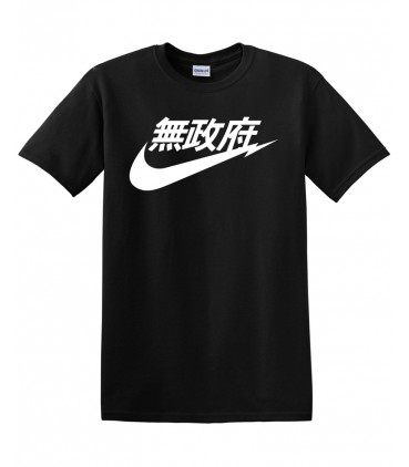 Anarchy Air Japan Schwarz T-Shirt