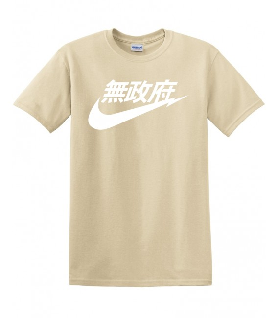Anarchy Air Japan Tshirt Beige