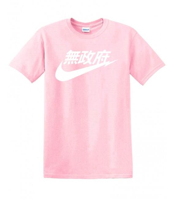 Anarchy Air Japan Tee Pink