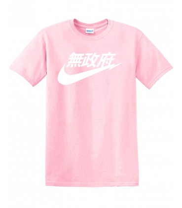 Anarchy Air Japan Tshirt Rose Pastel