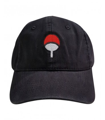 Uchiwa Clan Dad Hat Black Naruto Merch