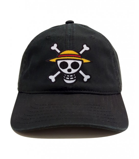Patch One Piece Dad Hat Noir