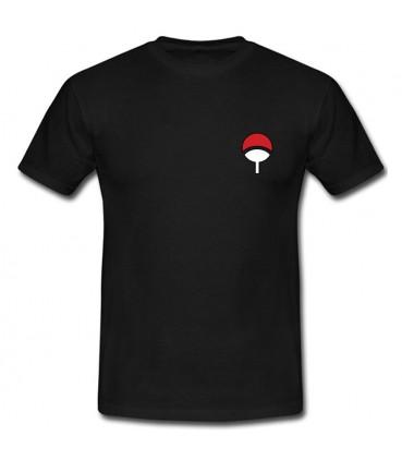 Uchiwa Clan T-Shirt Schwarz
