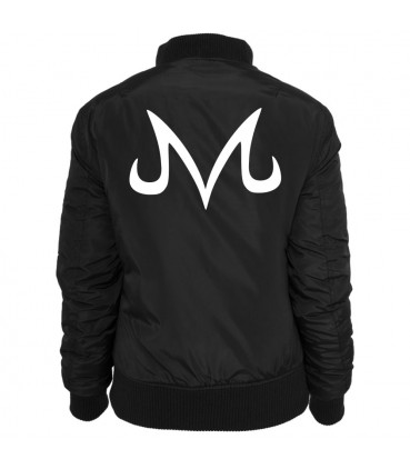 M Majin Vegeta Bomber Schwarz Dragon Ball Z