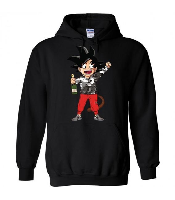 Supreme Son Goku GT Sweat à Capuche Noir