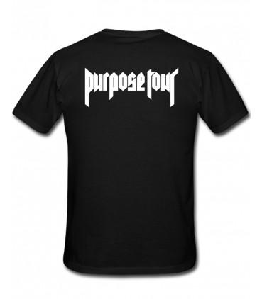 Staff Tshirt Noir Purpose Tour Merch