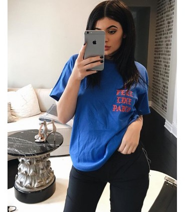 I Feel Like Pablo T-Shirt Bleu Pablo Merch