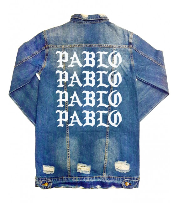 Pablo Patch Embroidered Long Sleeve Jeans Jacket