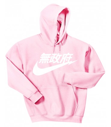 Anarchy Air Japan Sweat à Capuche Pastel Rose