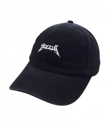 Yeezus Dad Hat Noir Kanye West Merch