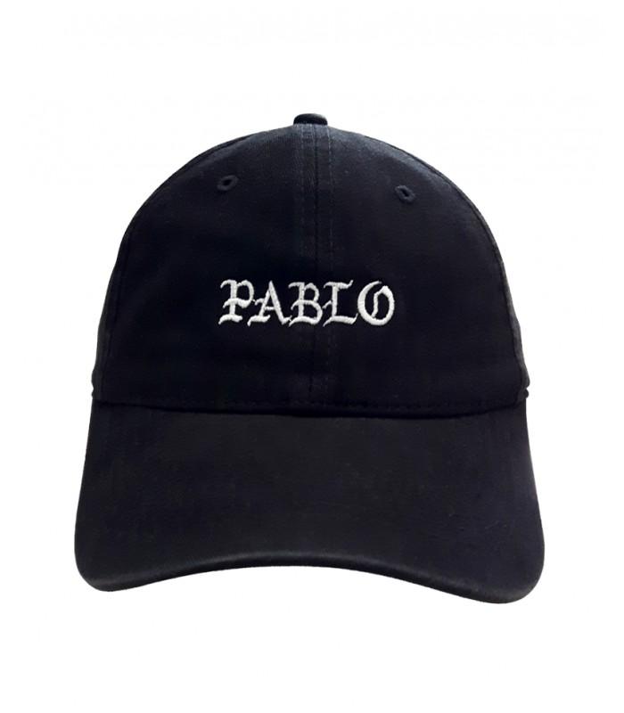 pas mal nouveau sélection achat original Pablo Dad Hat Noir Kanye West Merch