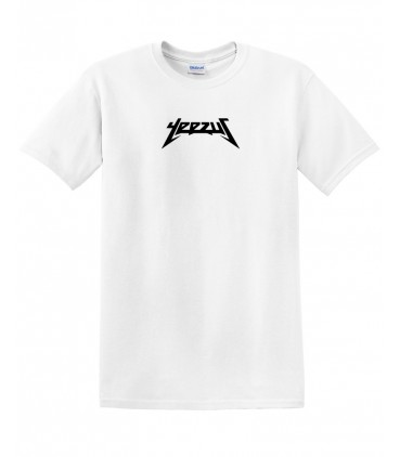 Yeezus Tee White Yeezus Merch