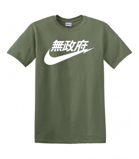 Anarchy Air Japan Tshirt Kaki