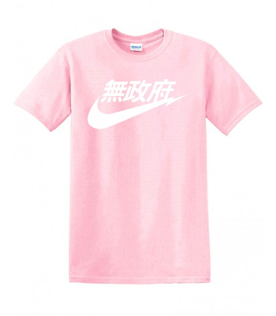 Anarchy Air Japan Tee Pink
