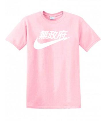 Anarchy Air Japan Tshirt Rose Pastel
