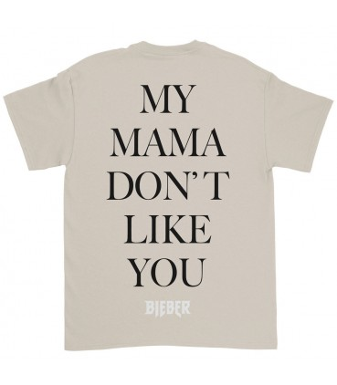 Justin Bieber Purpose Tour Tshirt My Mama Dont Like You