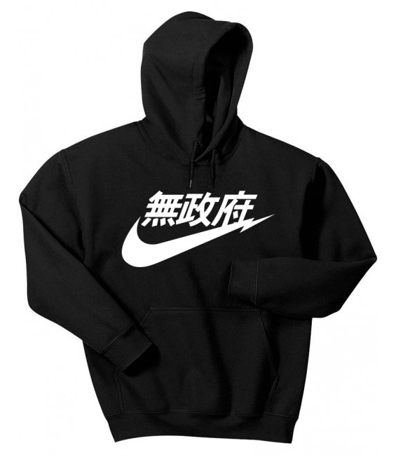 Anarchy Air Japan Hoodie Black