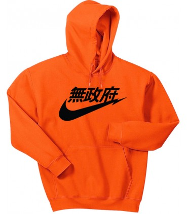 Anarchy Air Japan Sweat à Capuche Orange