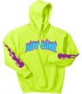 Just Chill Hoodie Yellow Neon