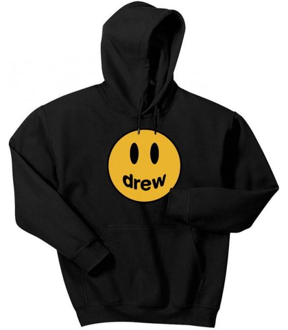 Justin Bieber Drew Sweat Capuche Noir