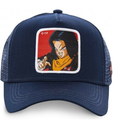 Casquette Trucker Dragon Ball Z C-17 Bleu Marine
