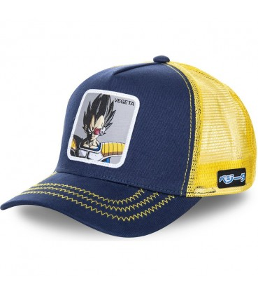Dragon Ball Z Vegeta Trucker Cap Navy