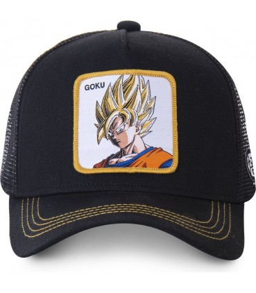 Dragon Ball Z Goku Trucker Cap Black