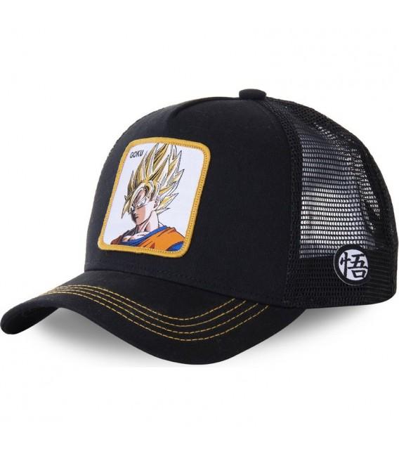 Dragon Ball Z Goku Trucker Cap Black