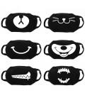 Masque Facial Personnalisé Smile, Masque Réutilisable, Masque Lavable, Masque Visage, Masques Personnalisés