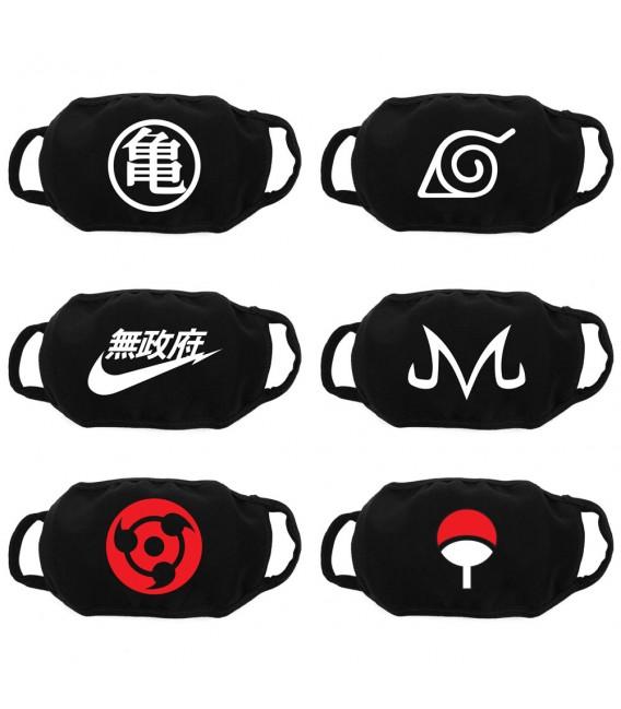Custom Manga Face Mask, Reusable Mask, Washable Mask, Face Mask, Personalized Masks