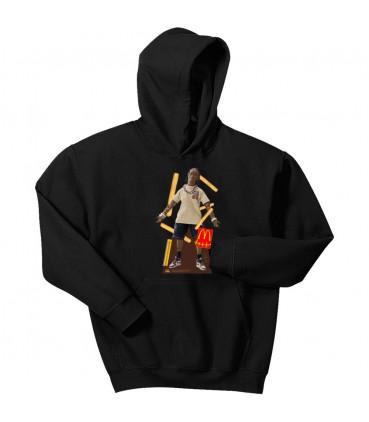 Sweat Capuche Travis Scott x McDonald's Action Figure Noir